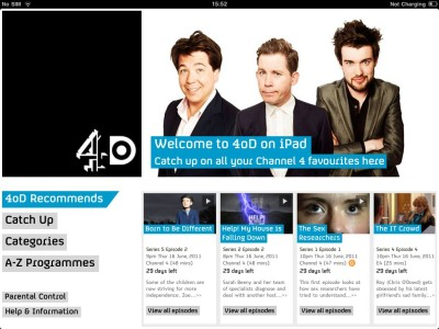 4oD Channel Added to Sky's Now TV Box