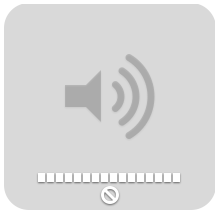 OS X No Sound Icon
